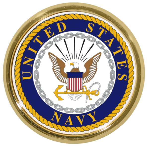 Marine Corps Shield Chrome Auto Emblem Mitchell Proffitt AC-16 U.S