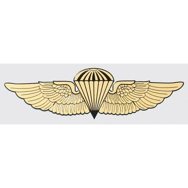 Marine Navy Jump Wings Clear Decal Mitchell Proffitt D62-M