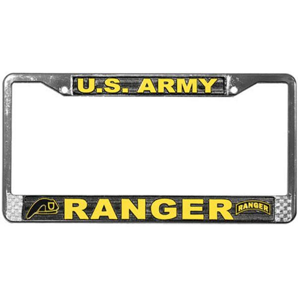 Military License Plate Frames  CafePress