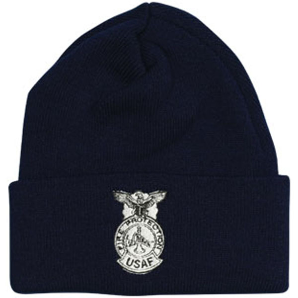 82fc35881e0 Fire Protection USAF Direct Embroidered Black Watch Cap