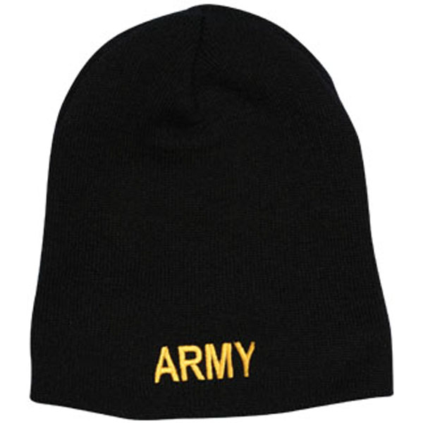 a41b553735a SC02-BLACK · SC02-BLACK. Army Skull Cap ARMY Letters Direct Embroidered ...