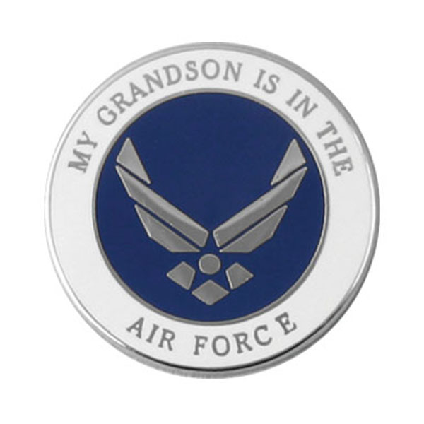 Great PI00009 · PI00009. Air Force Lapel Pin