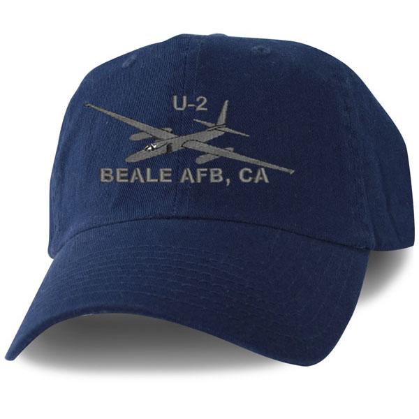 4738425af1e2bc U2 Beale AFB Direct Embroidered Blue Ball Cap