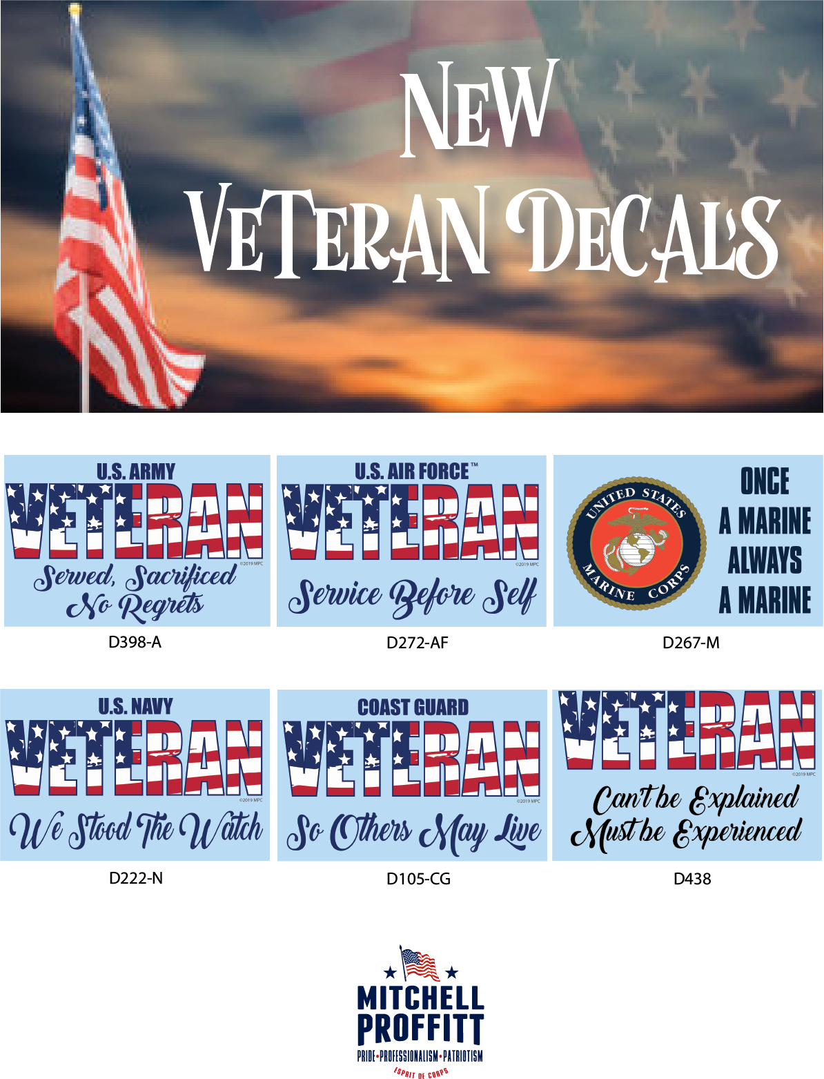 Mitchell Proffitt – OFFICIALLY LICENSED MILITARY PRODUCTS