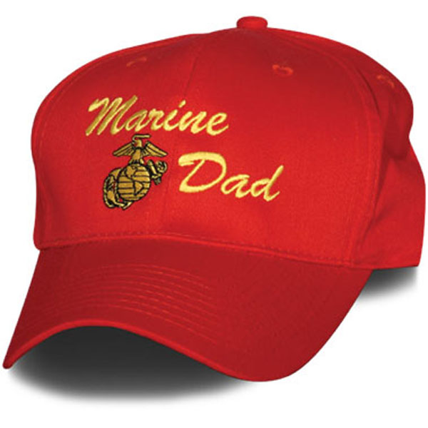 9d2b44bc41e USMC Base Ball Cap Direct Embroidered. USMC Marine Dad
