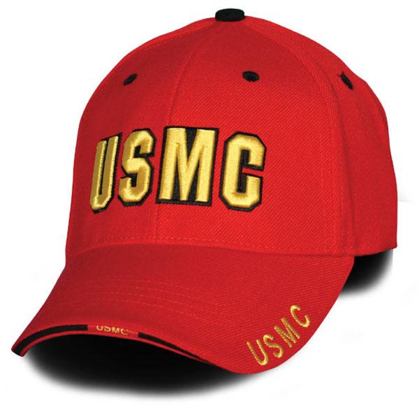 USMC Base Ball Cap Direct Embroidered ... 0e555a97538e